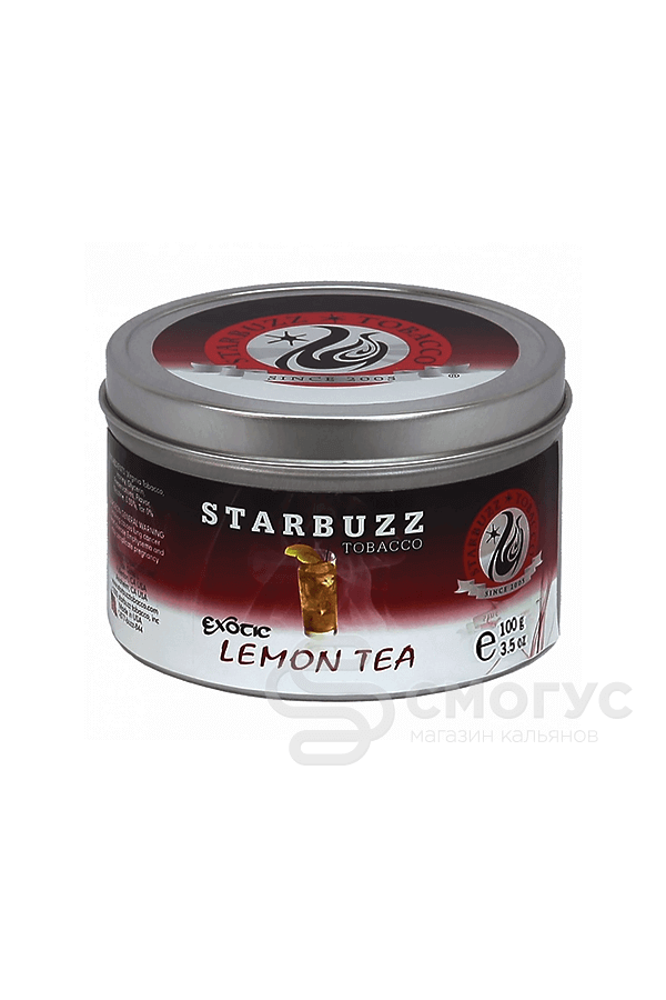 Starbuzz Lemon tea (Чай с лимоном), 100 гр.